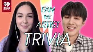 B.I Goes Head to Head With His Biggest Fan! | Fan Vs Artist Trivia