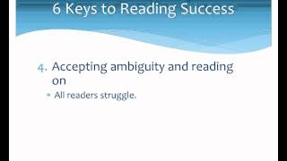 6 Keys to Reading Success for ESL Students