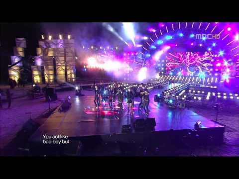 T ara&超新星 TTL Listen 2 MBC 2009歌谣大战 091231
