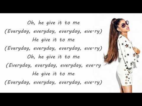 Ariana Grande - Everyday (Lyrics) ft. Future