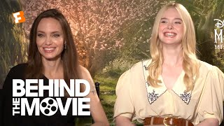 Angelina Jolie & Elle Fanning on Fairytales and Family | Maleficent: Mistress of Evil Interview
