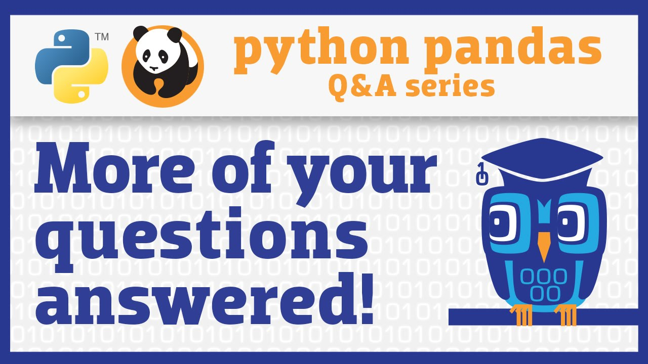 Image from More of your pandas questions answered!
