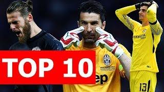Top 10 thủ môn đắt giá nhất Thế giới