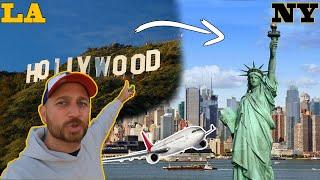 LOS ANGELES to NEW YORK vlog #1   Amerikalıların Türk Dizi Sevgisi