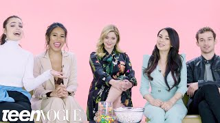 """""""Pretty Little Liars: The Perfectionists"""" Cast Plays I Dare You 