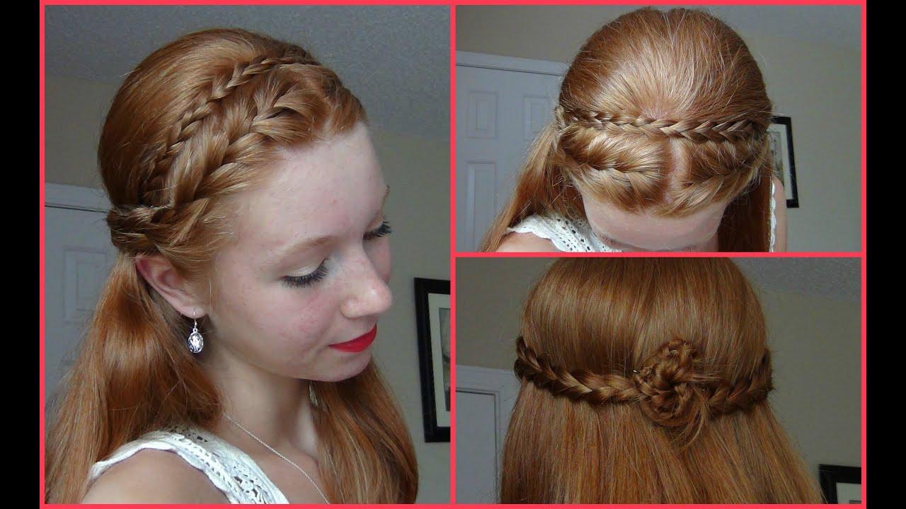 Hairstyles Braids Half Up: Summer 2013 Hairstyle! Half Up Half Down French Braided