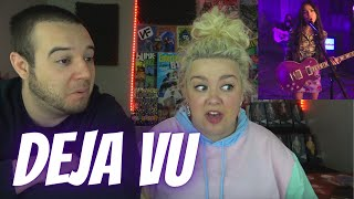 Olivia Rodrigo - deja vu LIVE | COUPLE REACTION VIDEO