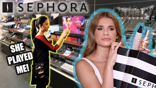 SEPHORA EMPLOYEE PICKS MY MAKEUP! she did me dirty omg
