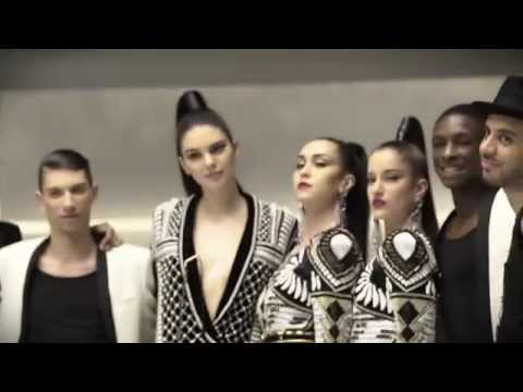 Balmain x H&M –  Behind the scenes at the campaign film starring Kendall Jenner
