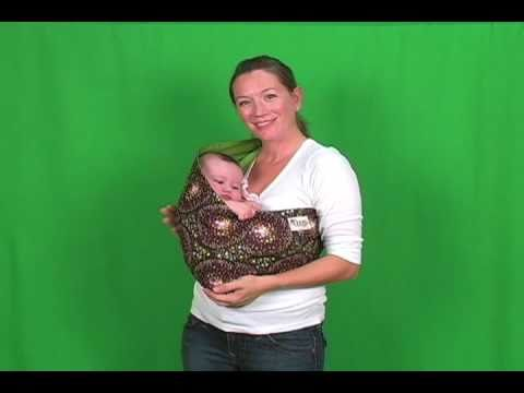 Baby Slings How To Wear A Baby Sling With An Infant Mod