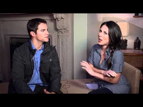 Brant Daugherty : Pretty Little Liars Set Visit Interview - YouTube