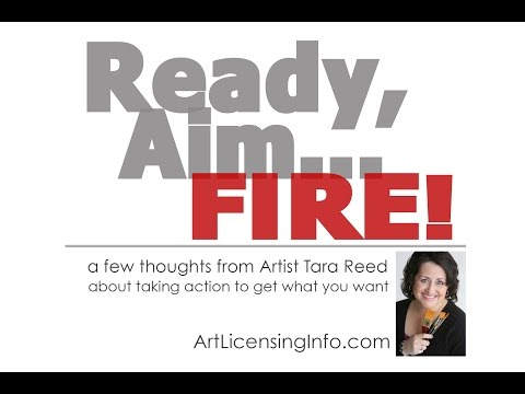 Ready Aim Fire - how your order affects your art business