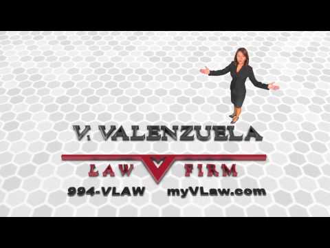 McAllen Lawyer/Abogado V Valenzuela Law Firm, Specialties in Accidents, Business Law, Real Estate, Divorces, Will, Collection, Visas de Inversionistas. Call 956-994-VLAW or visit myvlaw.com