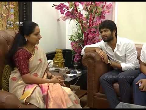 MP-Kavitha-Mind-Blowing-Punch-to-Vijay-Devarakonda