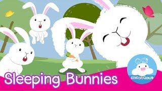 Sleeping Bunnies | Nursery Rhyme | เพลงกระต่ายขี้เซา | เพลงเด็กภาษาอังกฤษ by KidsOnCloud