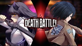 Death Battle Blake vs Mikasa Mini Prediction (Rwby vs Attack on Titan)