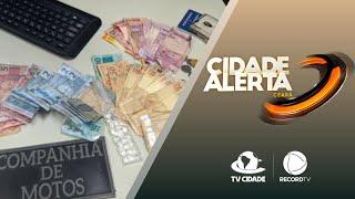 Dupla é capturada com cocaína e dinheiro