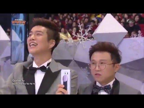 2015 KBS 연예대상 2부 - 축하공연 - 히트송 패러디 1 - 위아래 + 오늘부터 우리는