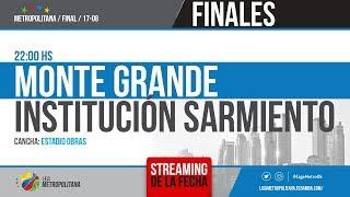 SEMIFINAL 2: MONTE GRANDE VS. INSTITUCIÓN SARMIENTO