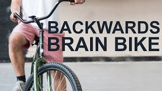 Smarter Every Day Challenge: Learn the Backwards Brain Bike