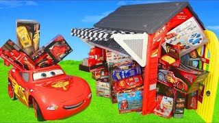 Cars Toys: Lightning Toy Vehicles, Ride on Car Play & Playhouse Surprise for Kids - YouTube