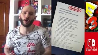 ¡FOROCOCHES FILTRA EL E3 2018 de NINTENDO SWITCH! - Sasel - Fake más grande de la historia - Lista