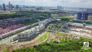 [Flycam 4k] Toàn cảnh khu đô thị Sala lớn nhất Thủ Thiêm