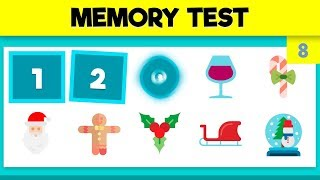QUICK MEMORY TEST - PHOTOGRAPHIC MEMORY TEST - VIDEO 8