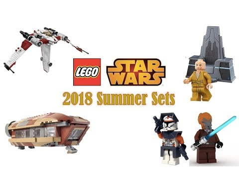 More Lego Star Wars 2018 Summer Sets News + Rumors - Lego Analysis ...