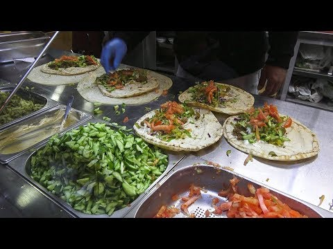 Falafel & Shawarma Wraps - Delicious Middle Eastern Street Food in Istanbul