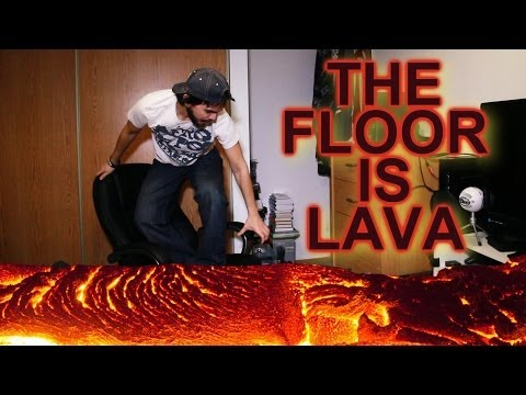 THE FLOOR IS LAVA!!! - Smashpipe Comedy