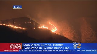 1,000 Acres Burn In Just 1 Hour Above Sylmar