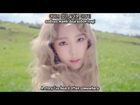 Taeyeon (ft. Verbal Jint) - I (MV) + [English subs/Romanization/Hangul]