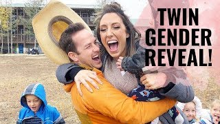 TWIN Gender Reveal! SHOCKING!! Watch to the end! **NO SPOILERS!**