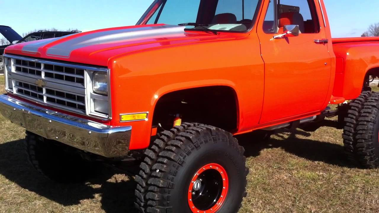 Steel Wheels For Chevy Truck 1968 C10 Stepside 4x4 Pictures