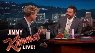Gordon Ramsay Tries Girl Scout Cookies for the First Time