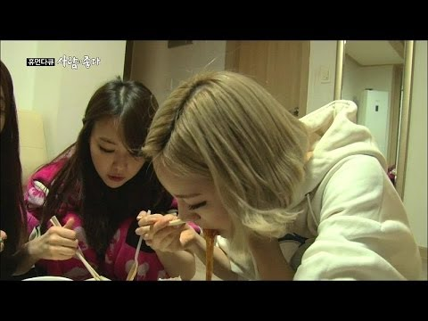 【TVPP】Girl's Day - Night meal & Housekeeping, 걸스데이 - 야식 & 집안살림 @ Human Docu