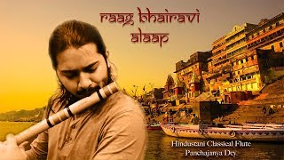 The Bliss of Silence || Raag Bhairavi || Hindustani Classical Flute || Panchajanya