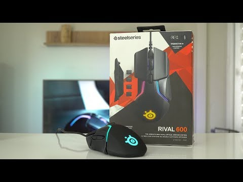 video SteelSeries Rival 600