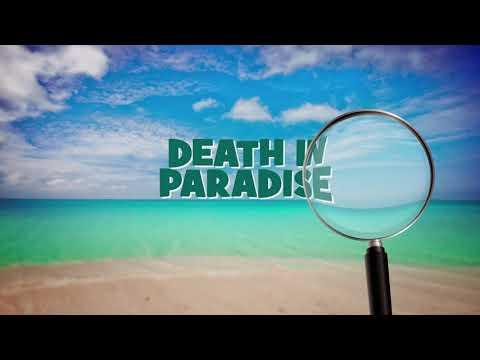 screenshot of youtube video titled Death in Paradise | Promo