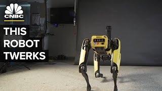 Boston Dynamics' SpotMini Robot Twerks