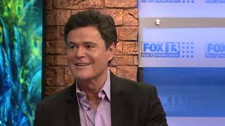 Donny Osmond on being the Peacock on The Masked Singer