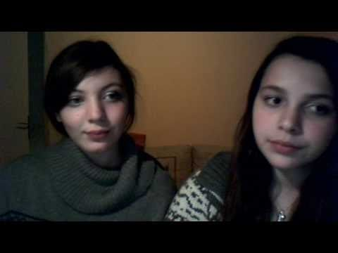 Us singing Never Far Behind by Aly & AJ ( 78violet ) !! :)