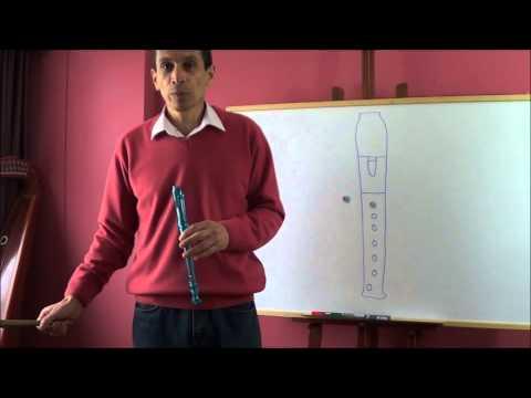 Clases de flauta con Fernando Cañón Lección 1