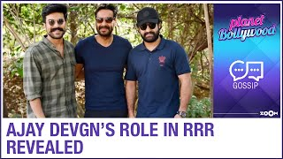 Ajay Devgn's character details in Rajamouli's RRR co-starr..
