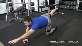 Hamstring Exercises | Resistance Bands | Workout at Home