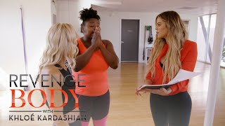 Khloé Kardashian Surprises Shayla With Her DNA Results | Revenge Body with Khloé Kardashian | E!