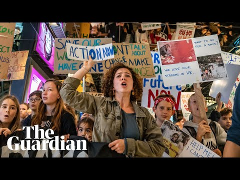 Students Around the World Go On Climate Strike