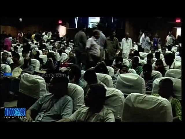 Delegates protests amid the changes in IFFK schedule