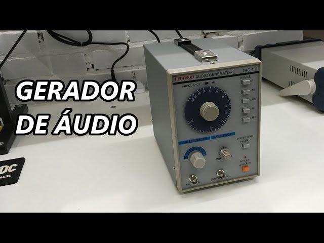 CONHEÇA UM GERADOR DE ÁUDIO PARA TESTE DE AMPLIFICADORES!